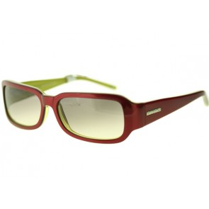 Pilgrim Sunglasses in Red/Green/Silver, Red/Green/Silver