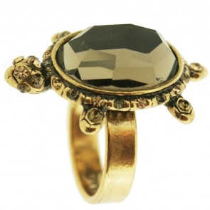 A&C Turtle Dramatic Turtle Adjustable Ring