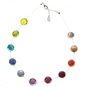 Watch this Space Necklace from the Buttons Collection