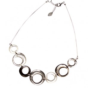 Watch this Space Necklace from the Hollow Hoops Collection