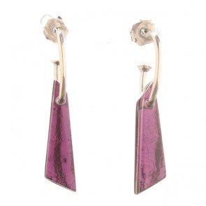 Watch this Space Earrings from the Icicle Collection, Rainbow.